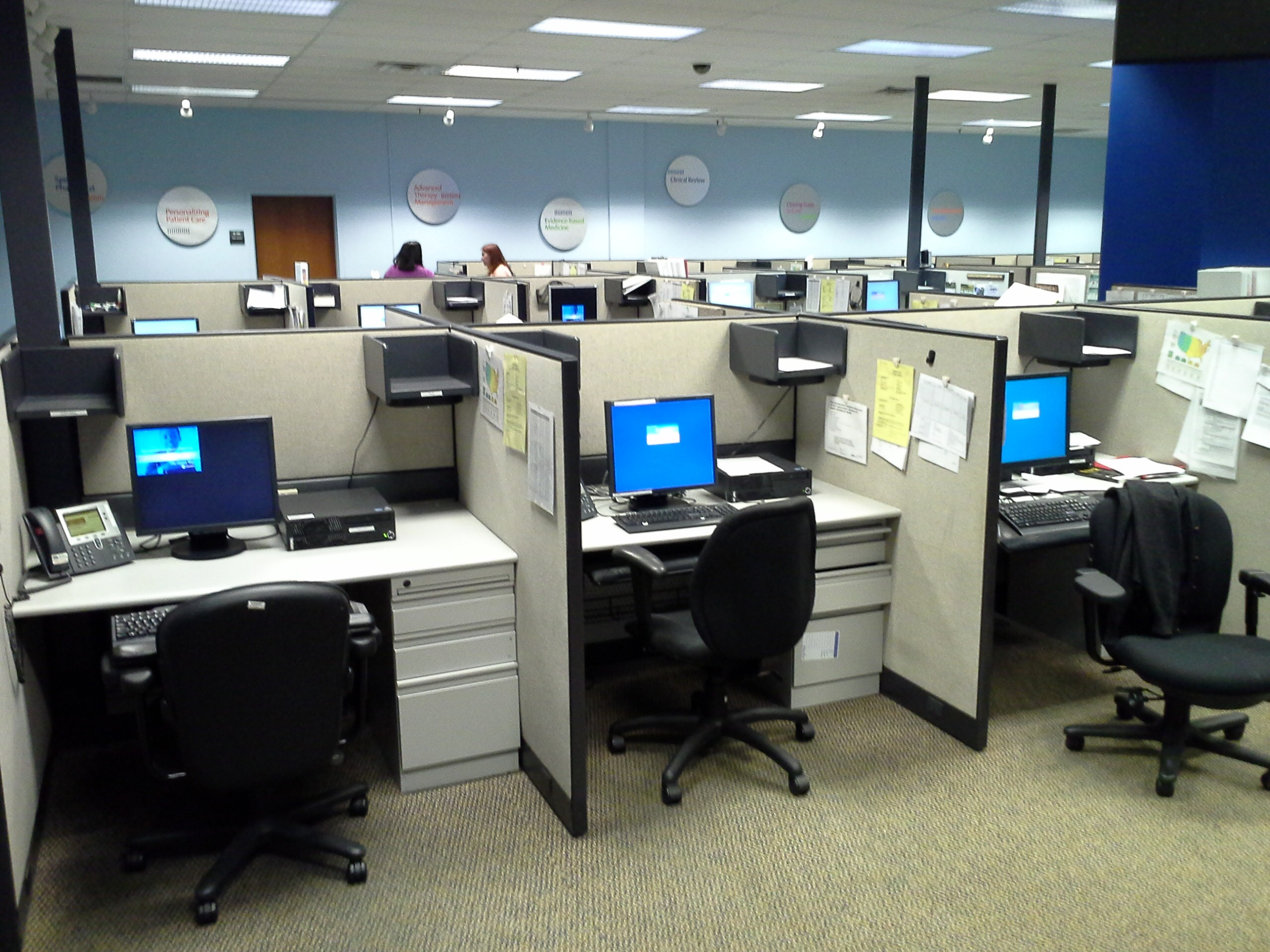 Standard Call Center Cubicles Asset Recovery Specialists