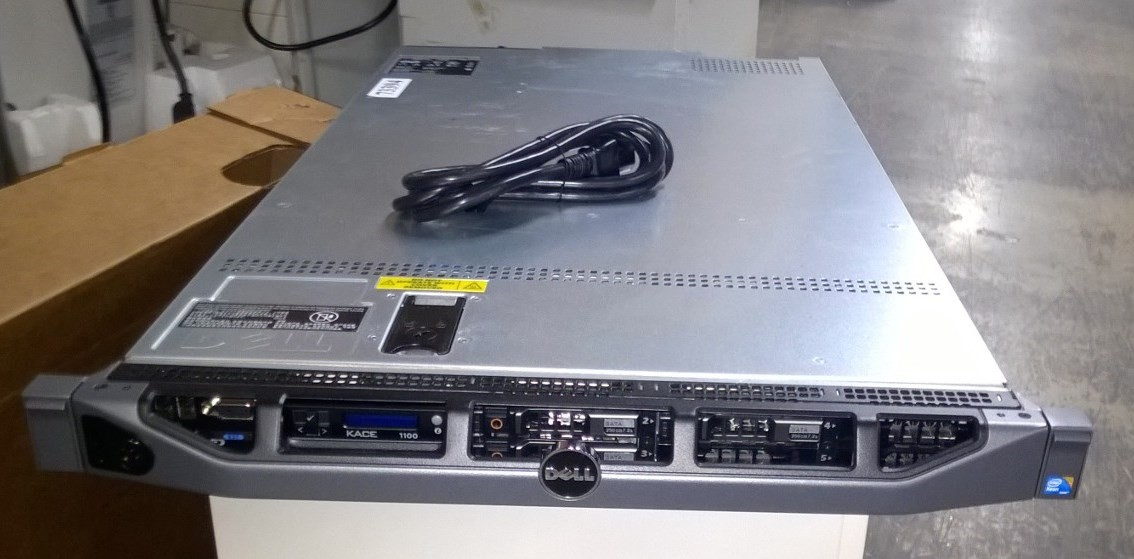 Dell Kace K1100 with (3) HDD 250GB, and DVD Drive