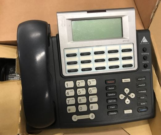 Altigen IP 710 PHONE WITH (1) ALTIGEN COMMUNICATIONS SERVER,...