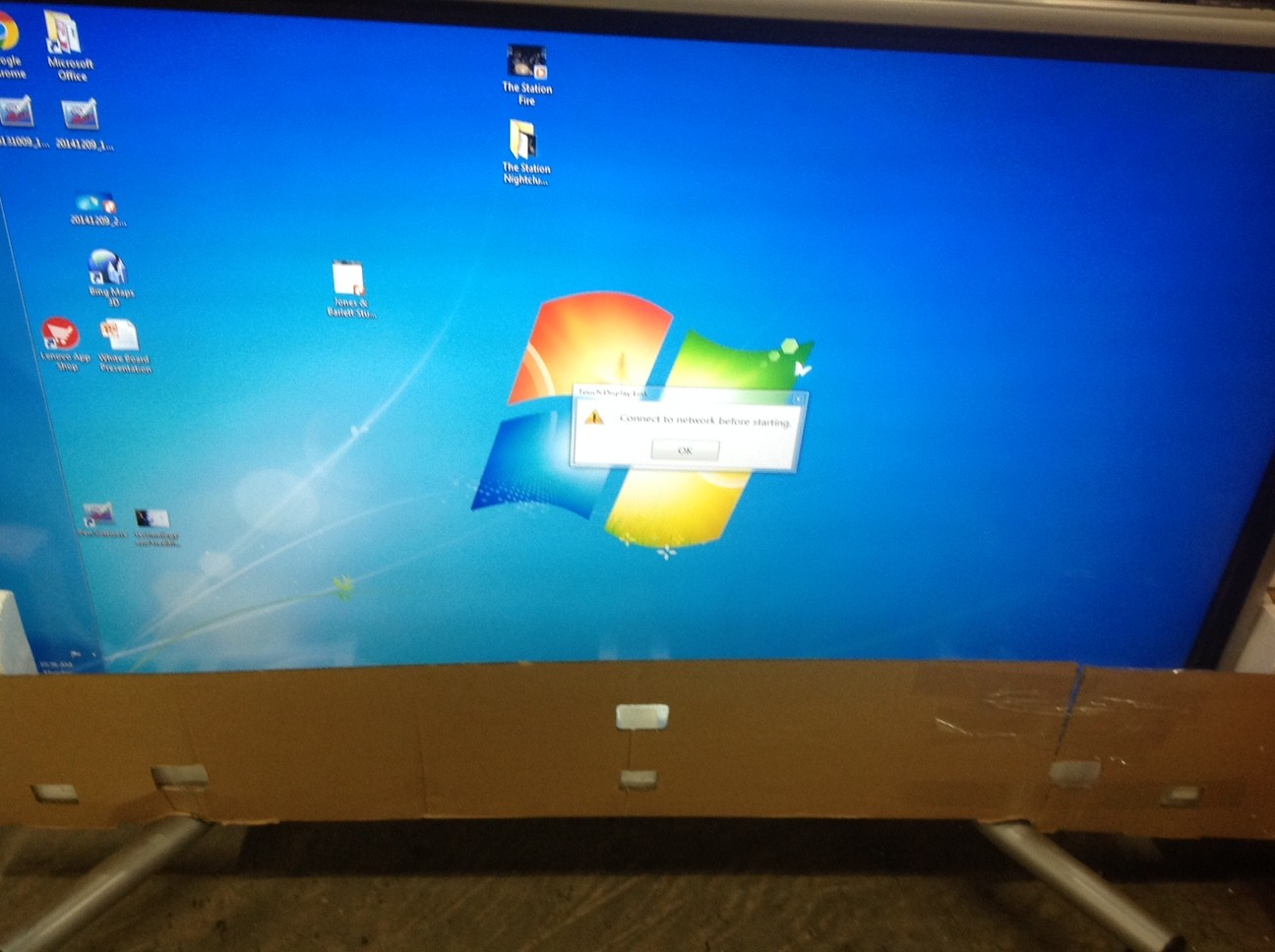 "Sharp 70"" PNL702B SMART WHITE BOARD"