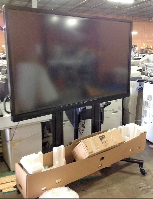 "Sharp 70"" PNL702B WHITEBOARD WITH ACCESSORIES (2 IN STOCK)"