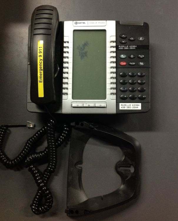 Mitel 5340E IP PHONES WITH ACCESSORIES