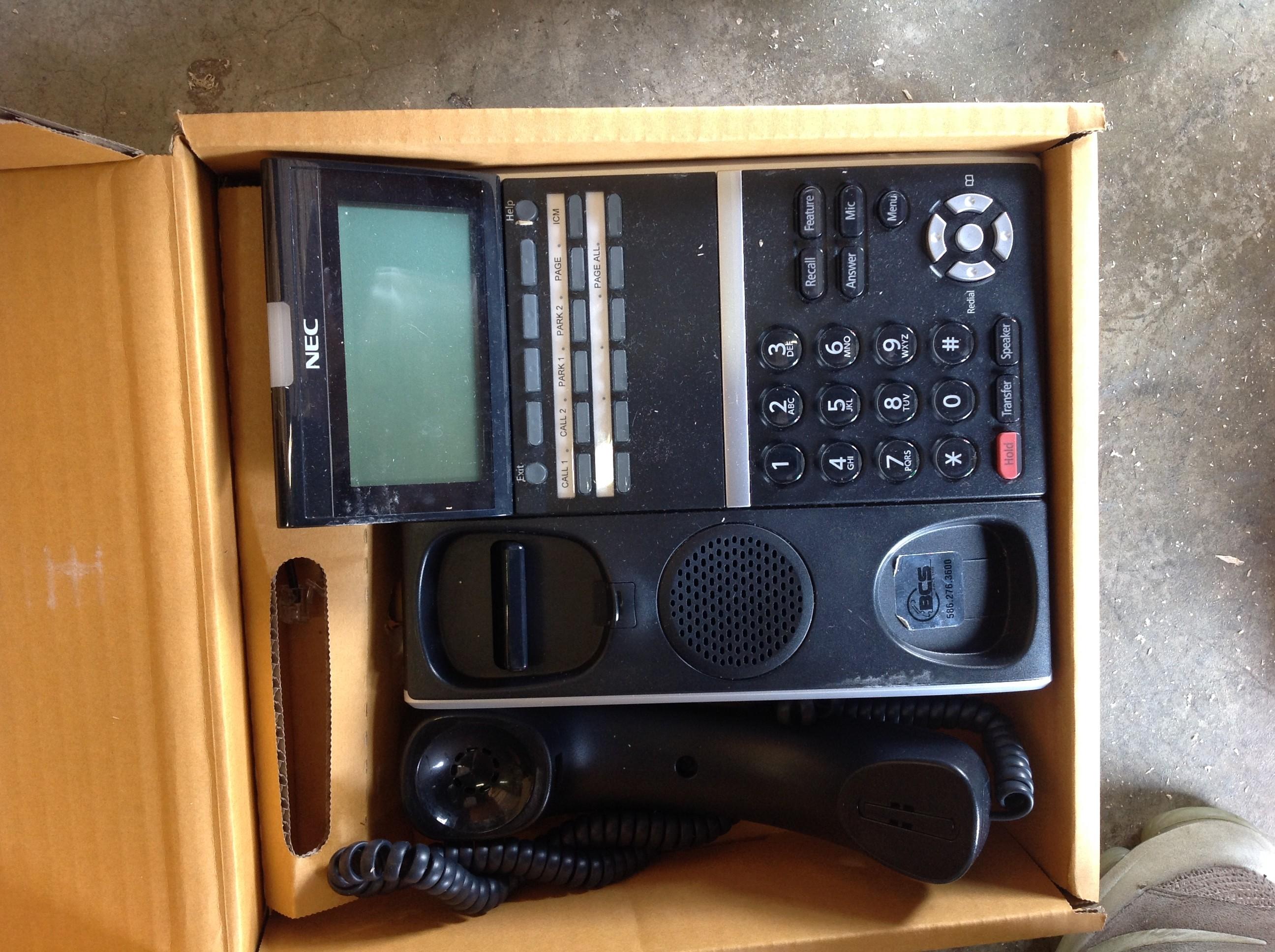 NEC DT300 TELEPHONE SYSTEM